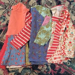 Matilda Jane set of shirts size 2